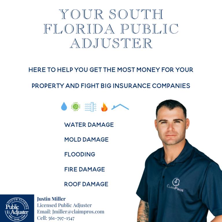 Public Insurance Adjuster Justin Miller